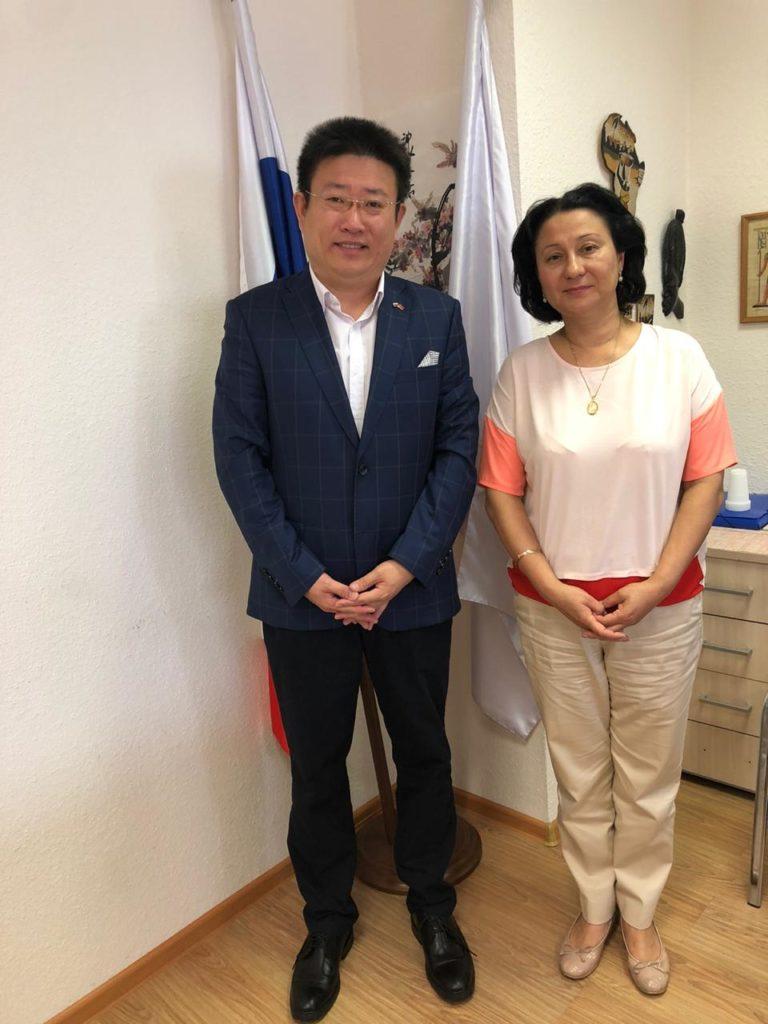 Встреча с Председателем «Инкорвуз-XXI»