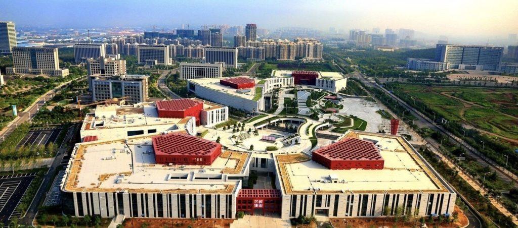 Новая схема развития г. Цзинань / 济南城市发展新格局